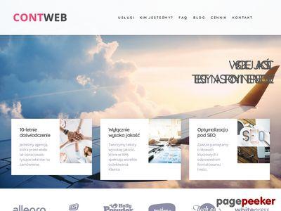 Copywriting - teksty pozycjonujące - Contweb.pl
