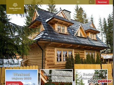 Krzeptowki.com.pl – domki z kominkiem w Zakopanem